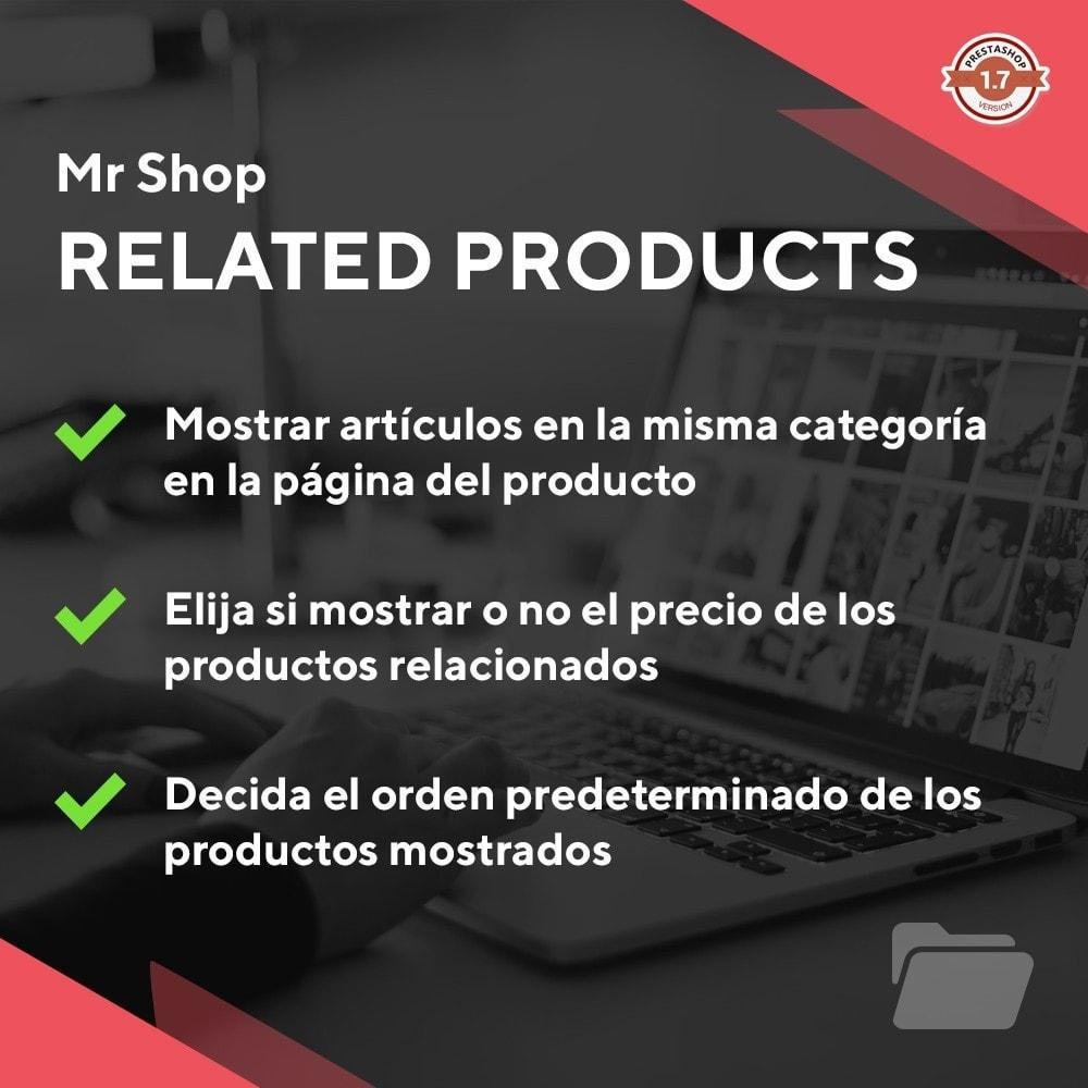 module - Ventas cruzadas y Packs de productos - Mr Shop Related Products - 1