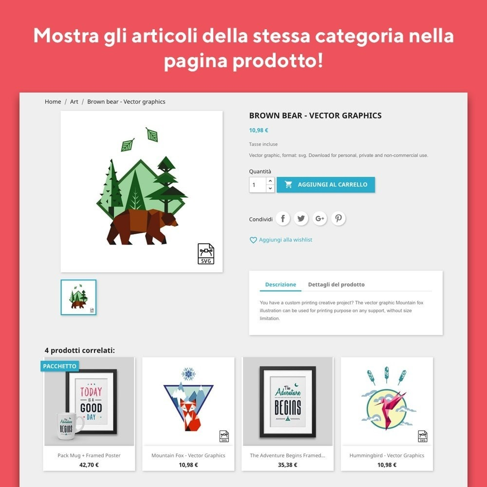 module - Cross-selling & Product Bundle - Mr Shop Prodotti Correlati - 2