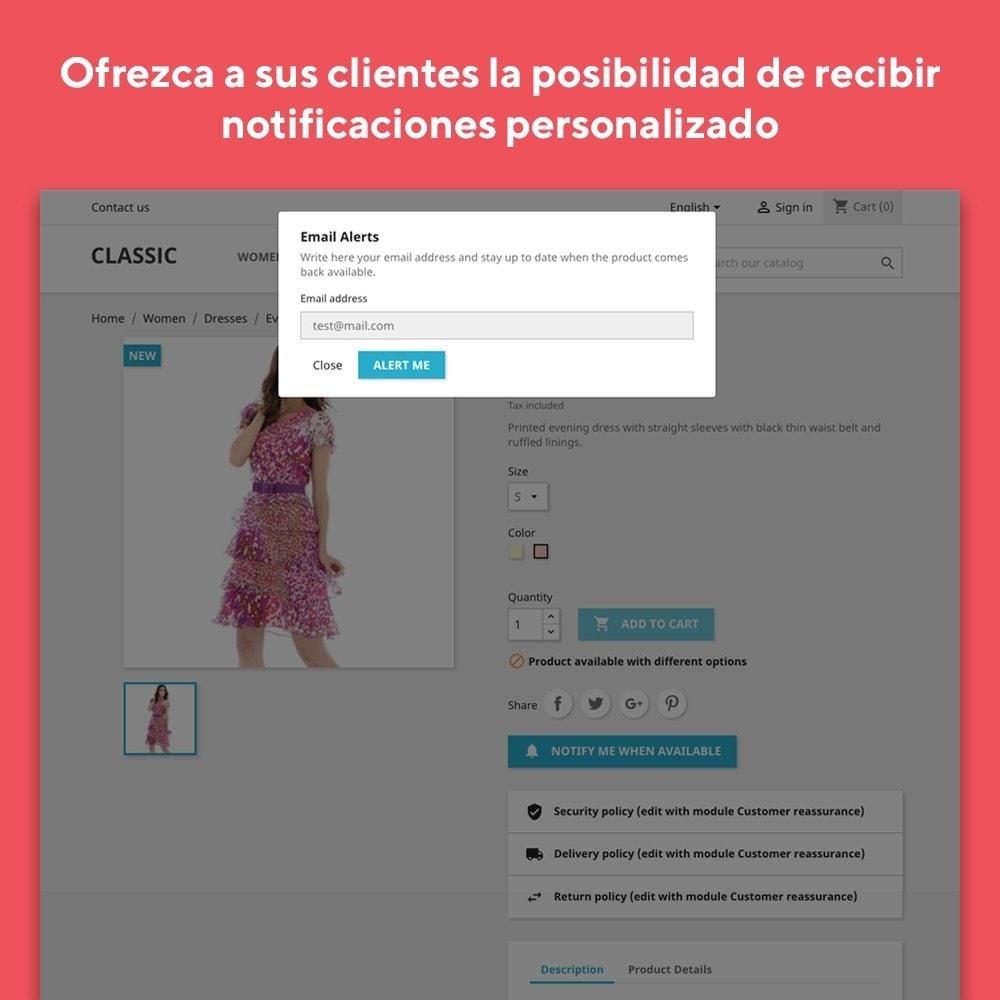 module - E-mails y Notificaciones - Mr Shop Mail Alerts - 3