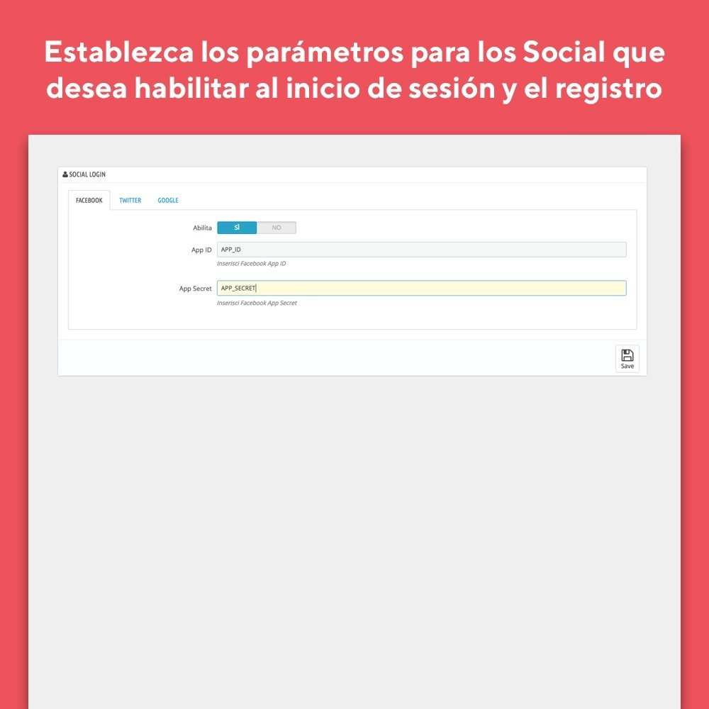 module - Botones de inicio de Sesión/Conexión - Mr Shop Social Login - 4