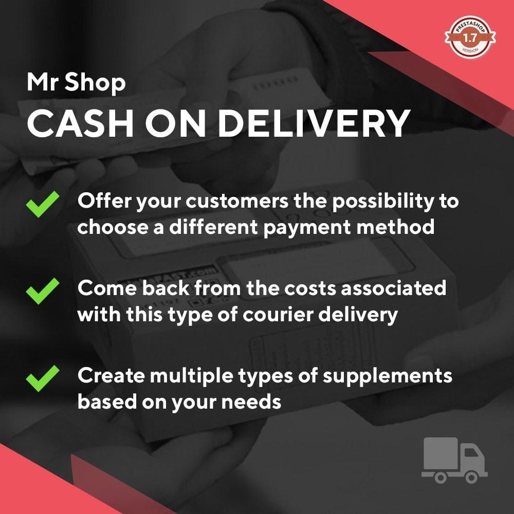 module - Betaling bij Levering - Mr Shop Cash on Delivery - 1