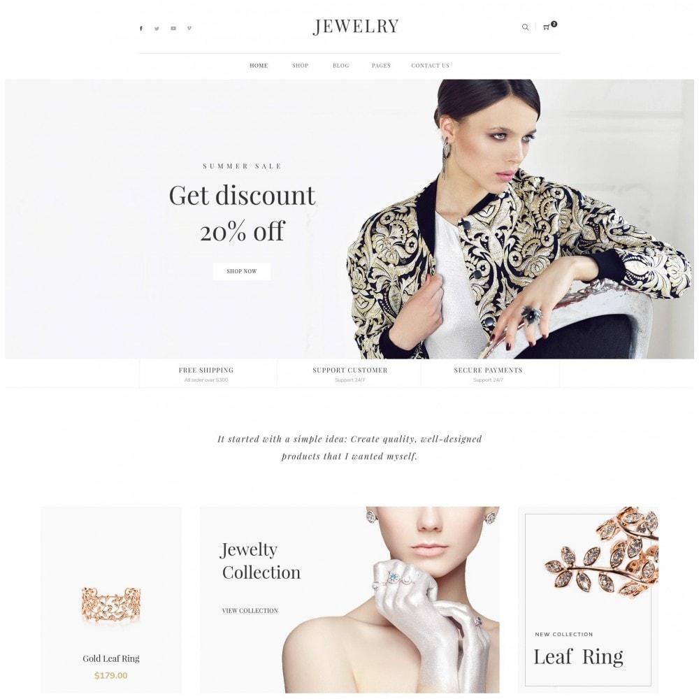 theme - Bellezza & Gioielli - Babi - Jewelry Store eCommerce Bootstrap 4 Template - 1