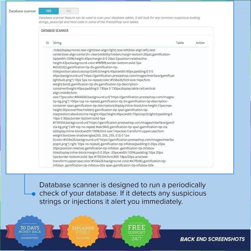 module - Security & Access - Protezione per il Negozio PRO / Anti Hack - 18