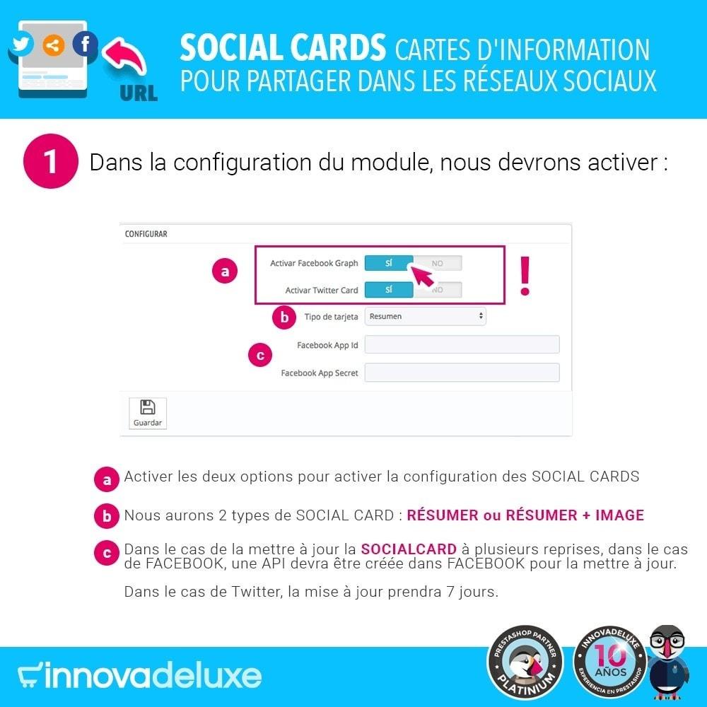 module - Boutons de Partage & Commentaires - SocialCards, pour partager sur les réseaux sociaux - 2
