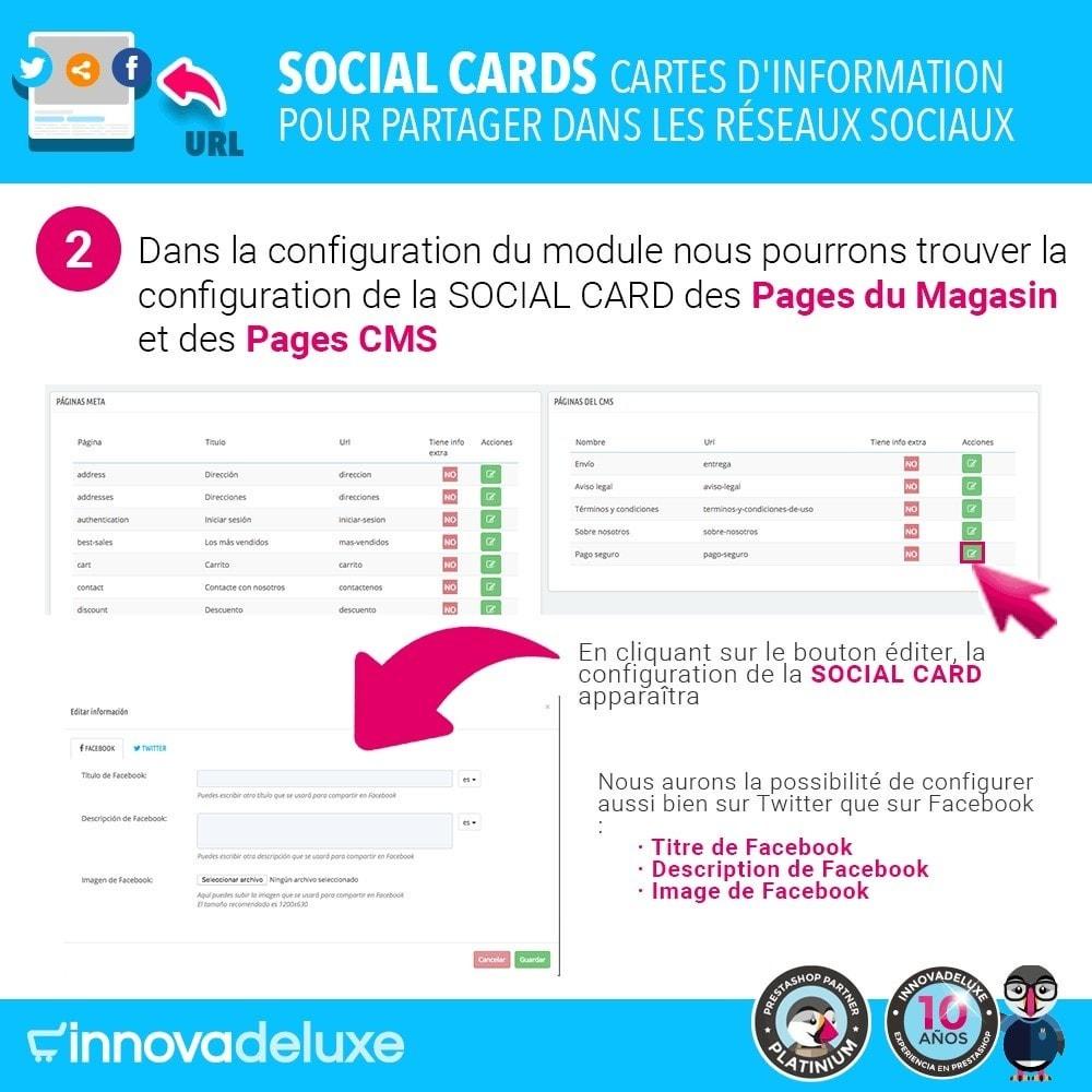 module - Boutons de Partage & Commentaires - SocialCards, pour partager sur les réseaux sociaux - 3