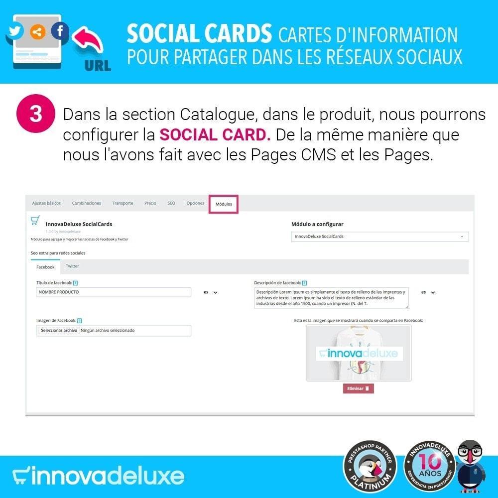 module - Boutons de Partage & Commentaires - SocialCards, pour partager sur les réseaux sociaux - 4