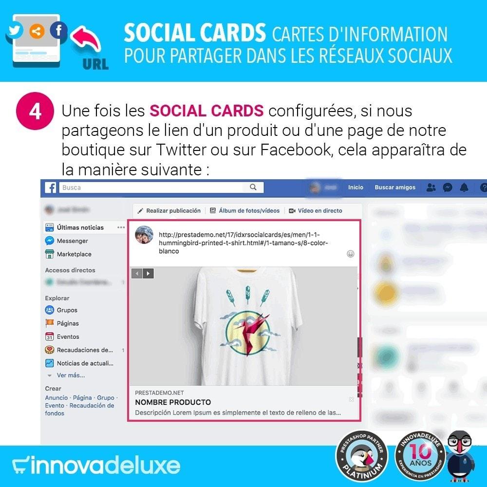 module - Boutons de Partage & Commentaires - SocialCards, pour partager sur les réseaux sociaux - 5