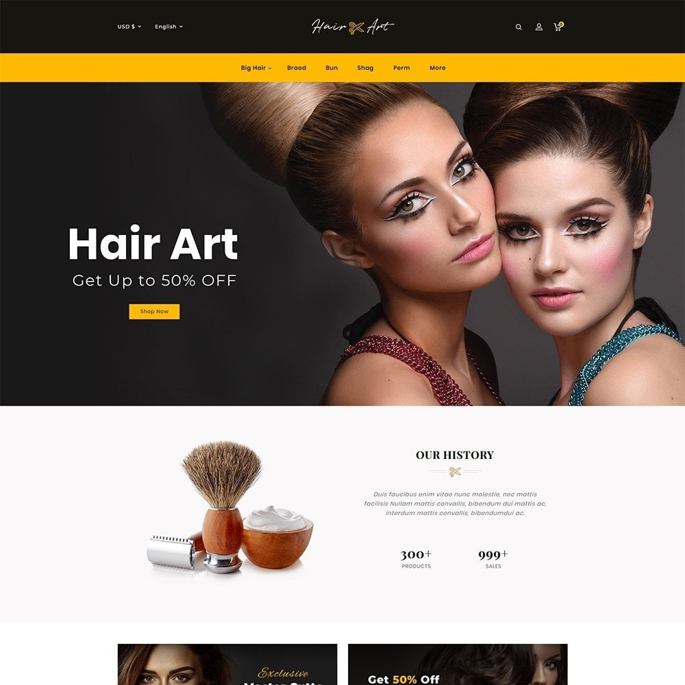 theme - Health & Beauty - Hair Barber & Therapy - 2