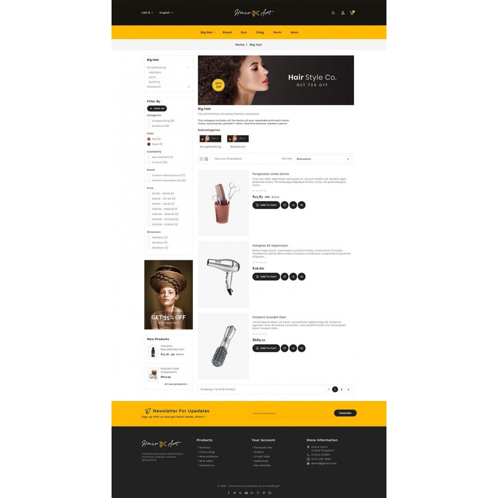 theme - Health & Beauty - Hair Barber & Therapy - 6