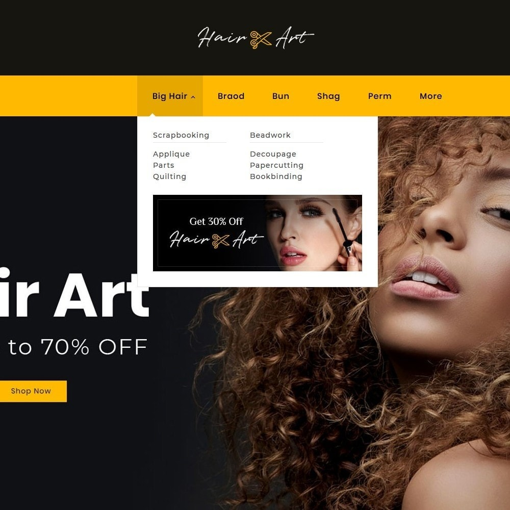 theme - Health & Beauty - Hair Barber & Therapy - 11