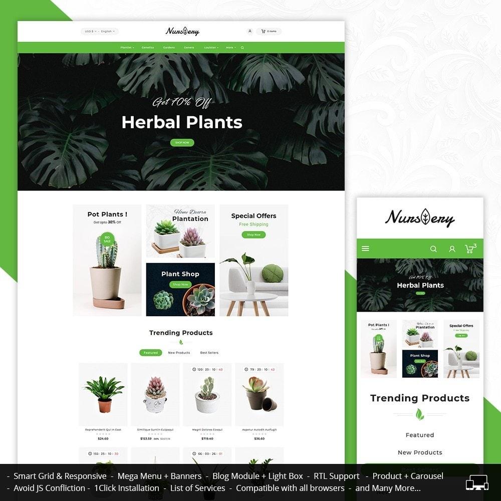 theme - Casa & Giardino - Nursery Plant & Garden Tools - 1