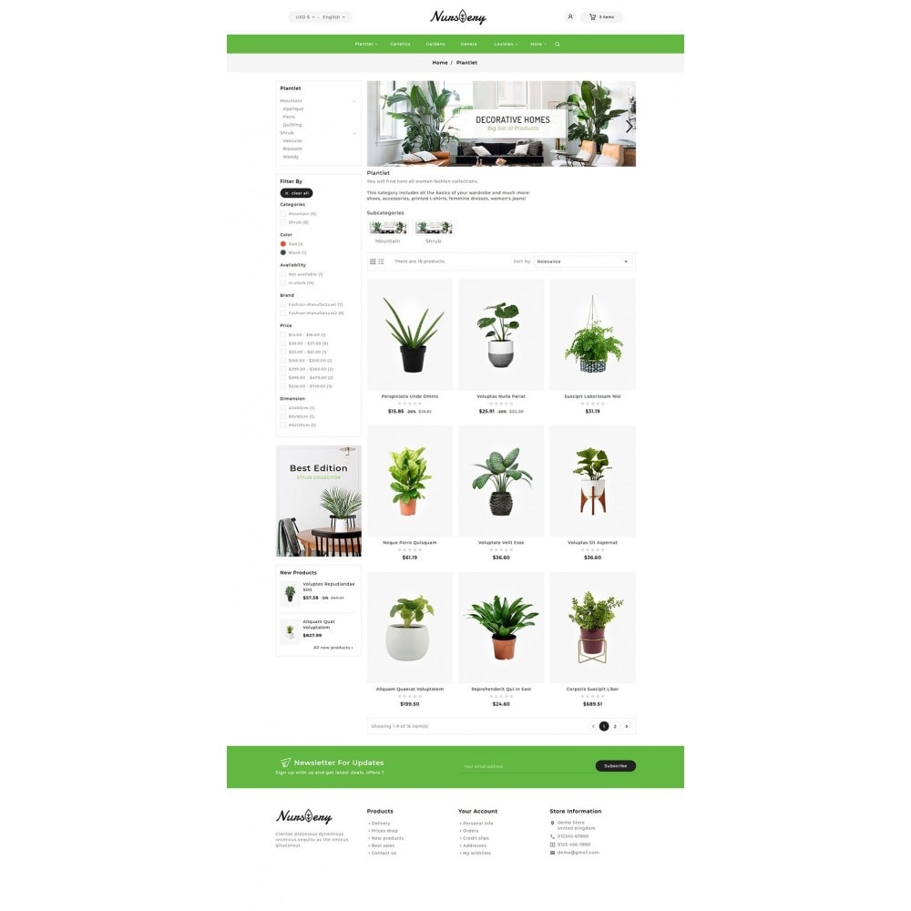 theme - Casa & Giardino - Nursery Plant & Garden Tools - 5
