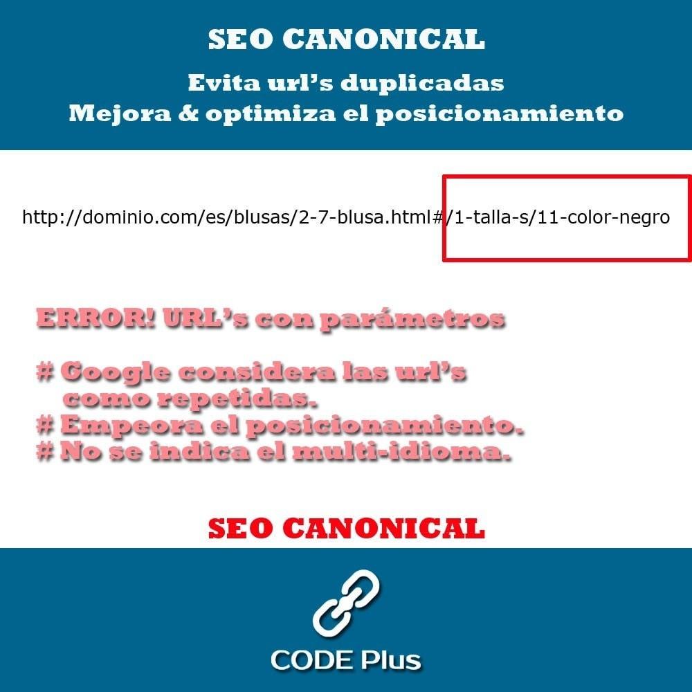module - SEO (Posicionamiento en buscadores) - SEO Canonicas + Hre flang - 3