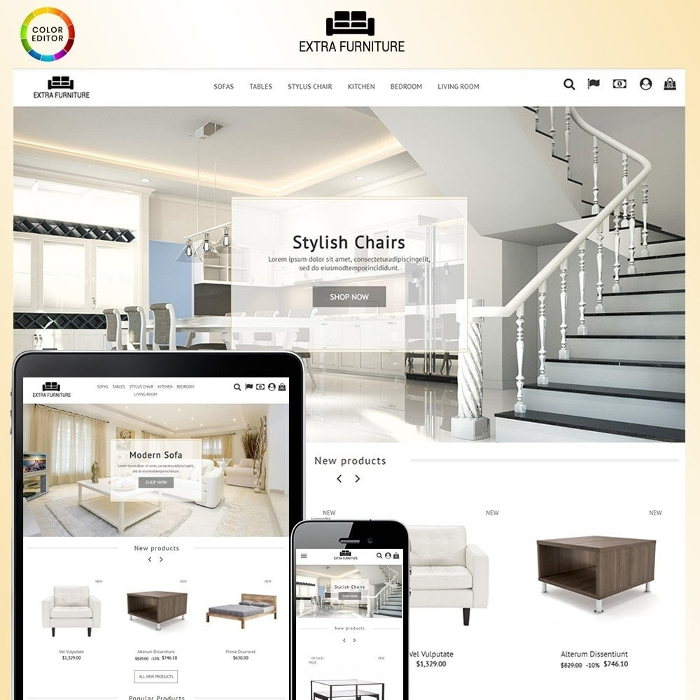 theme - Home & Garden - Extra Furniture - 1