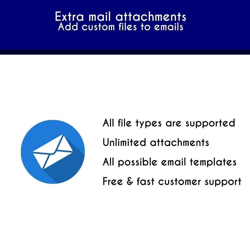 module - Notifications & Automatic Emails - Extra mail attachments - Add custom files to emails - 1