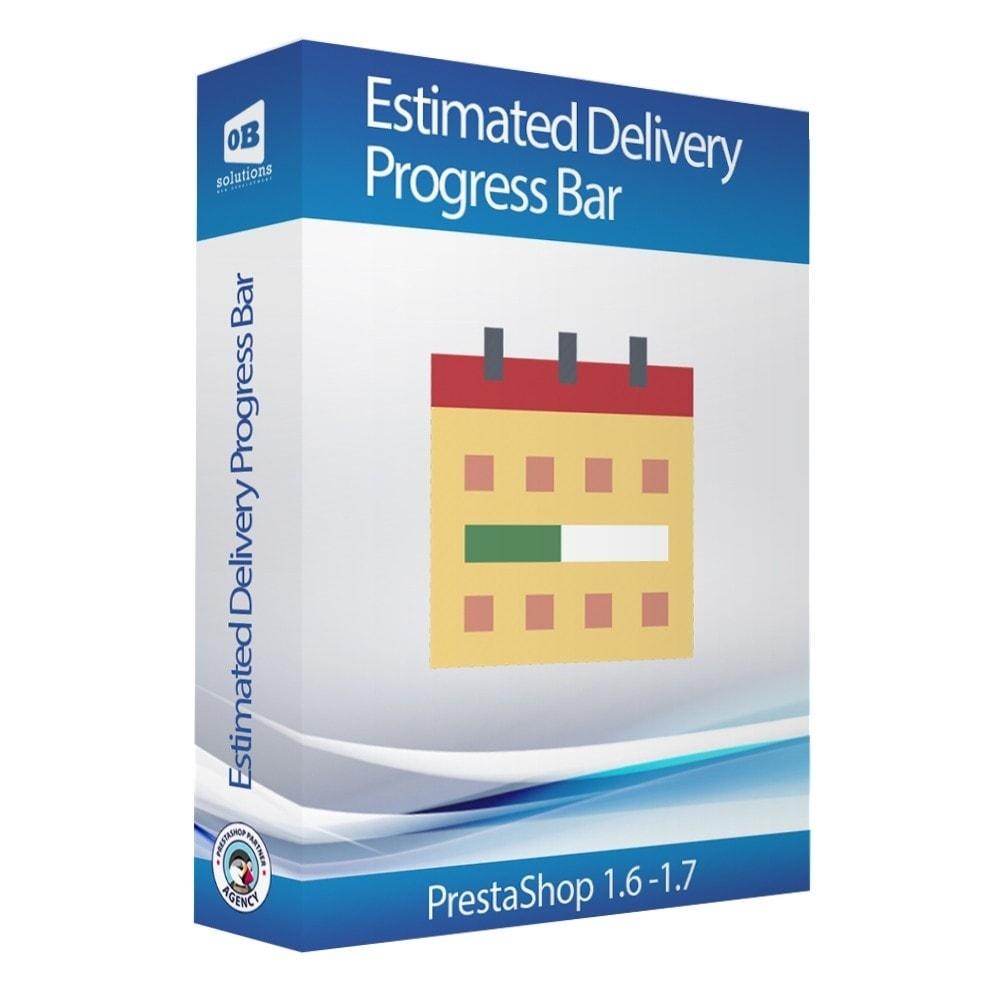 module - Leverdatum - Estimated delivery progress bar - 1