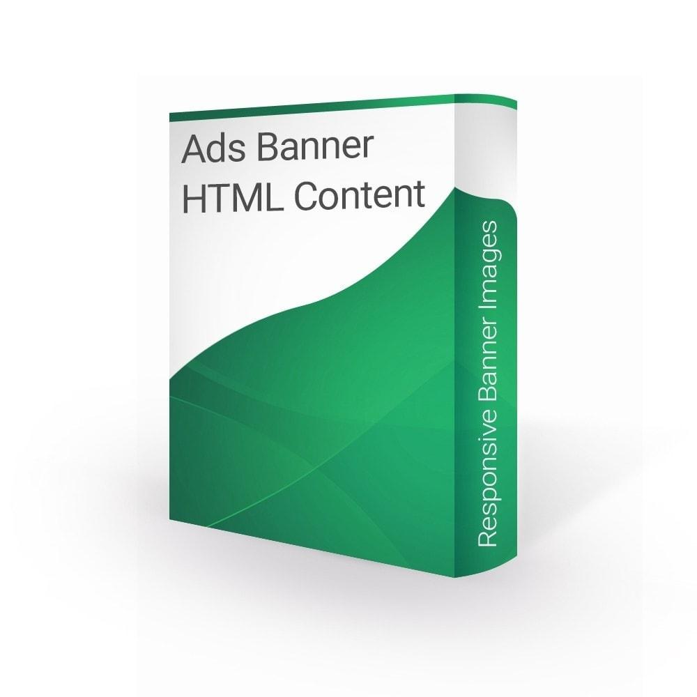 module - Blokken, Tabbladen & Banners - Ads Banner Images and HTML content - 1
