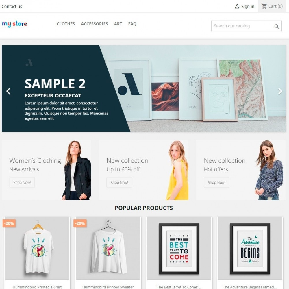 module - Bloques, Pestañas y Banners - Ads Banner Images and HTML content - 2