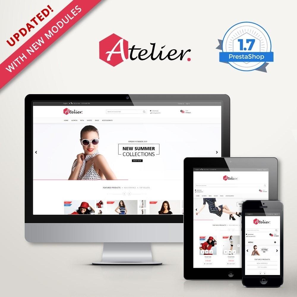theme - Fashion & Shoes - Atelier Fashion Multipurpose HTML5 - 1