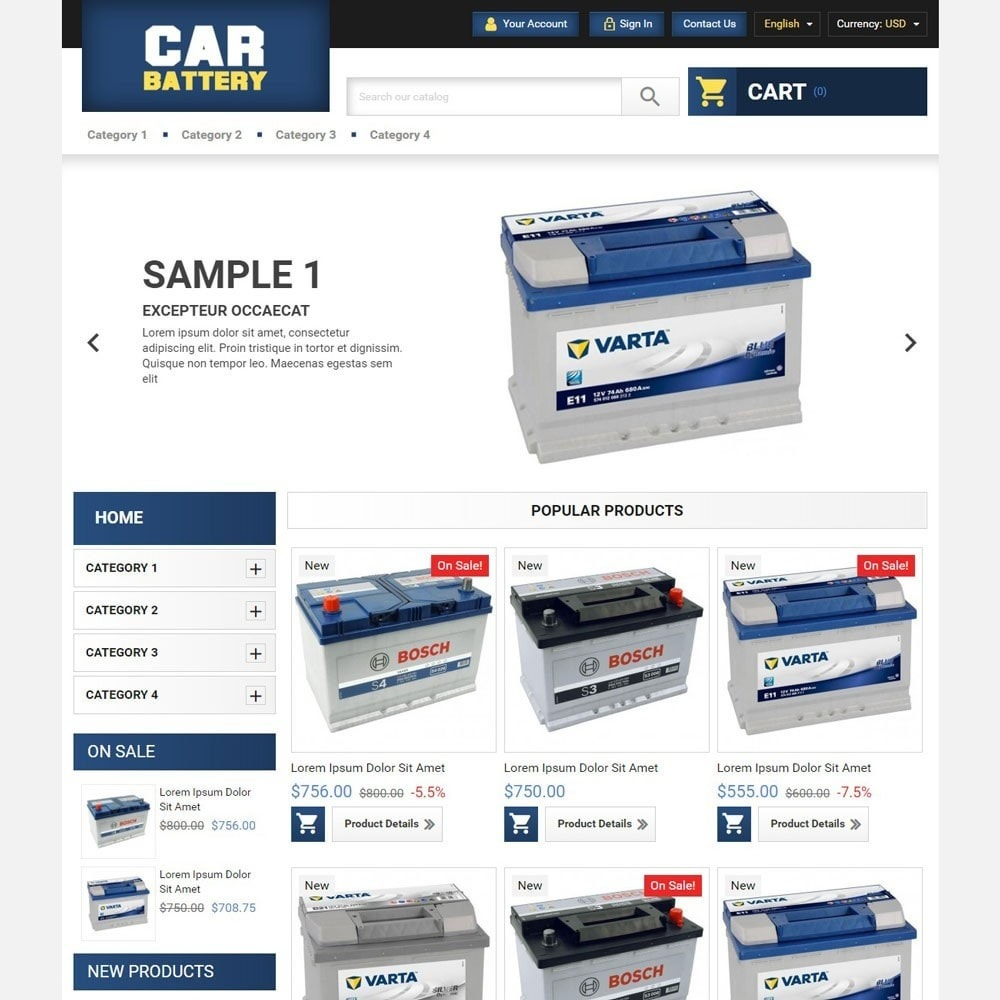 theme - Automotive & Cars - CarBattery - 2