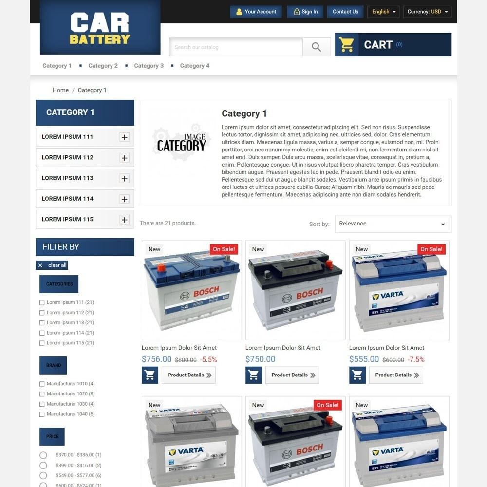 theme - Automotive & Cars - CarBattery - 3