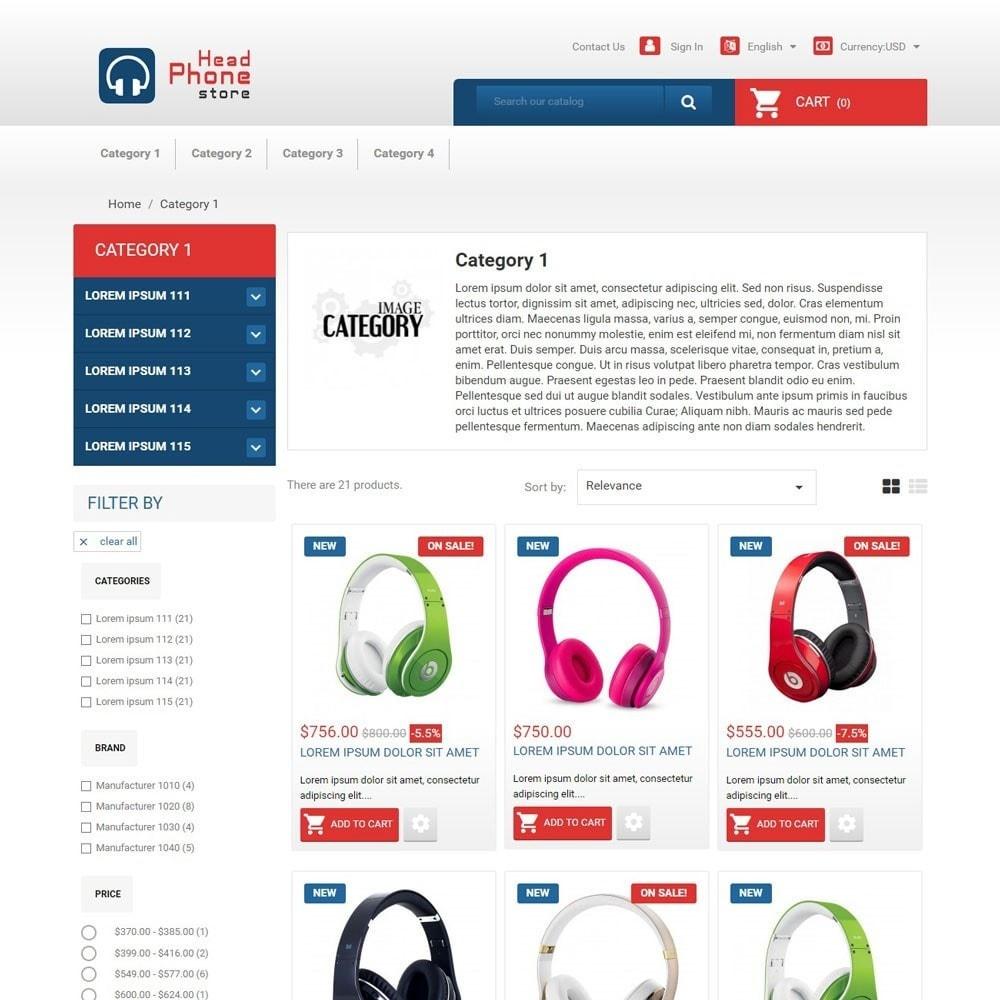 theme - Электроника и компьютеры - HeadphoneStore - 3