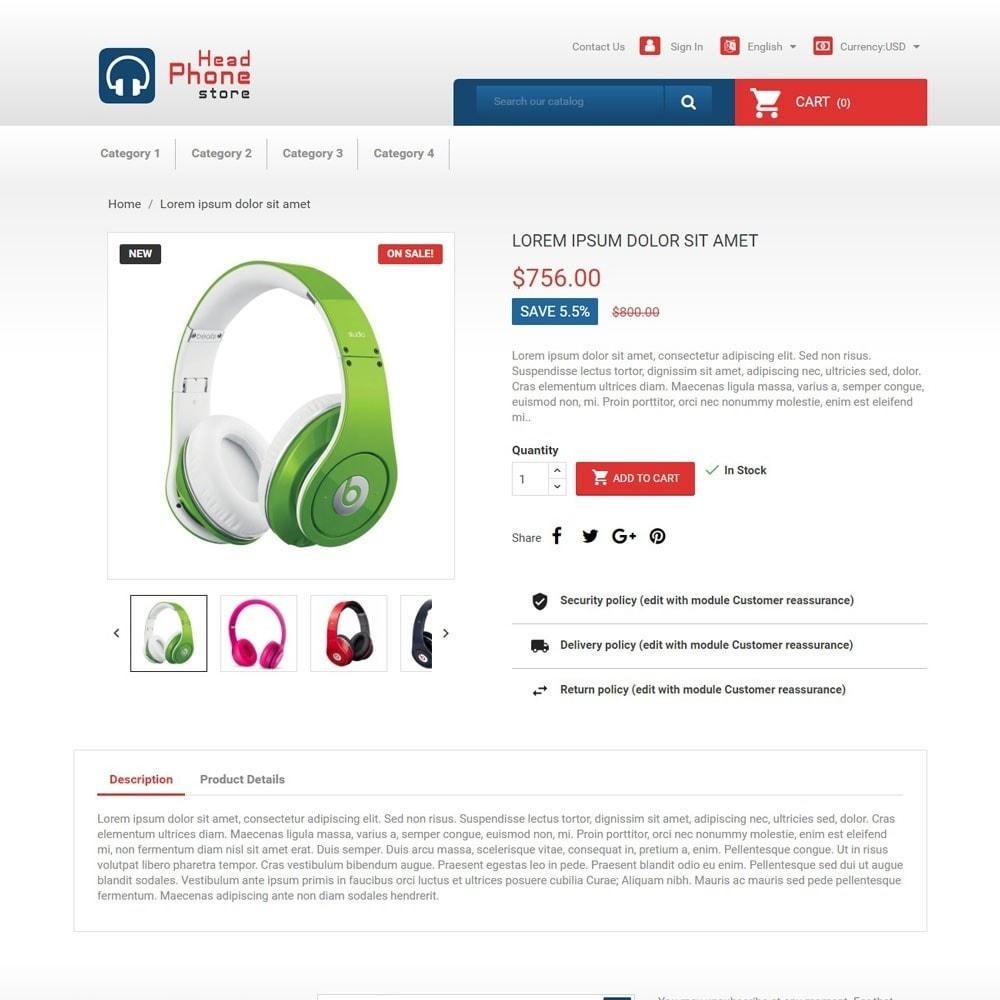 theme - Электроника и компьютеры - HeadphoneStore - 4