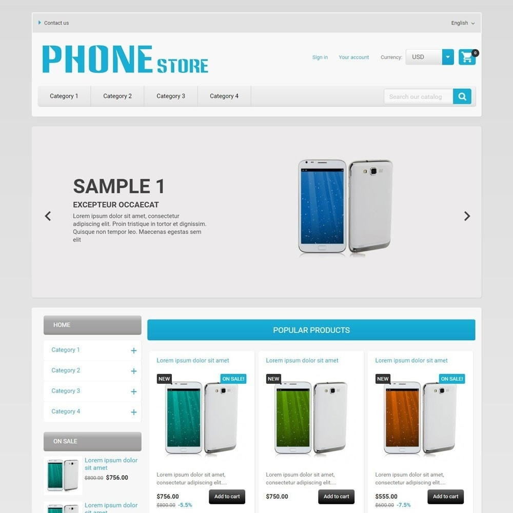 theme - Eletrônicos & High Tech - PhoneStore - 2