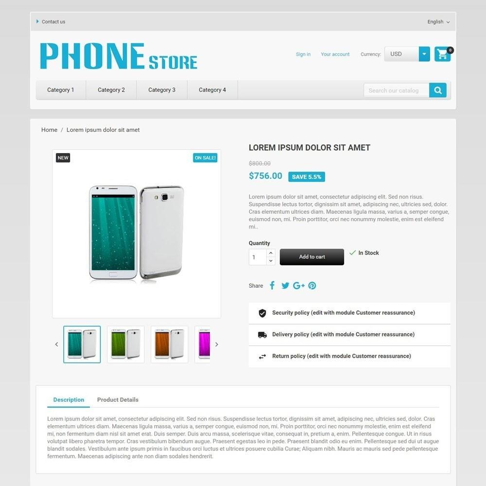 theme - Eletrônicos & High Tech - PhoneStore - 4