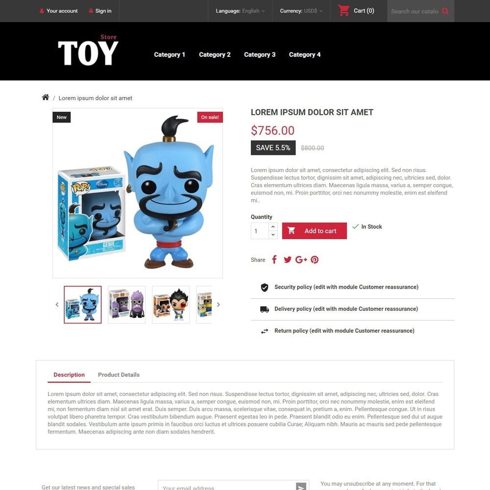 theme - Kinder & Spielzeug - ToyStore - 4