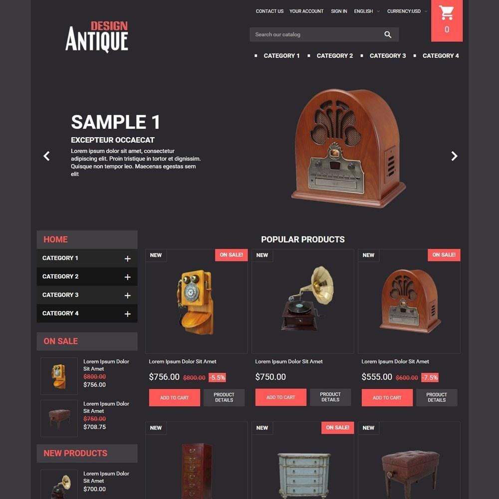 theme - Arte & Cultura - AntiqueDesign - 2