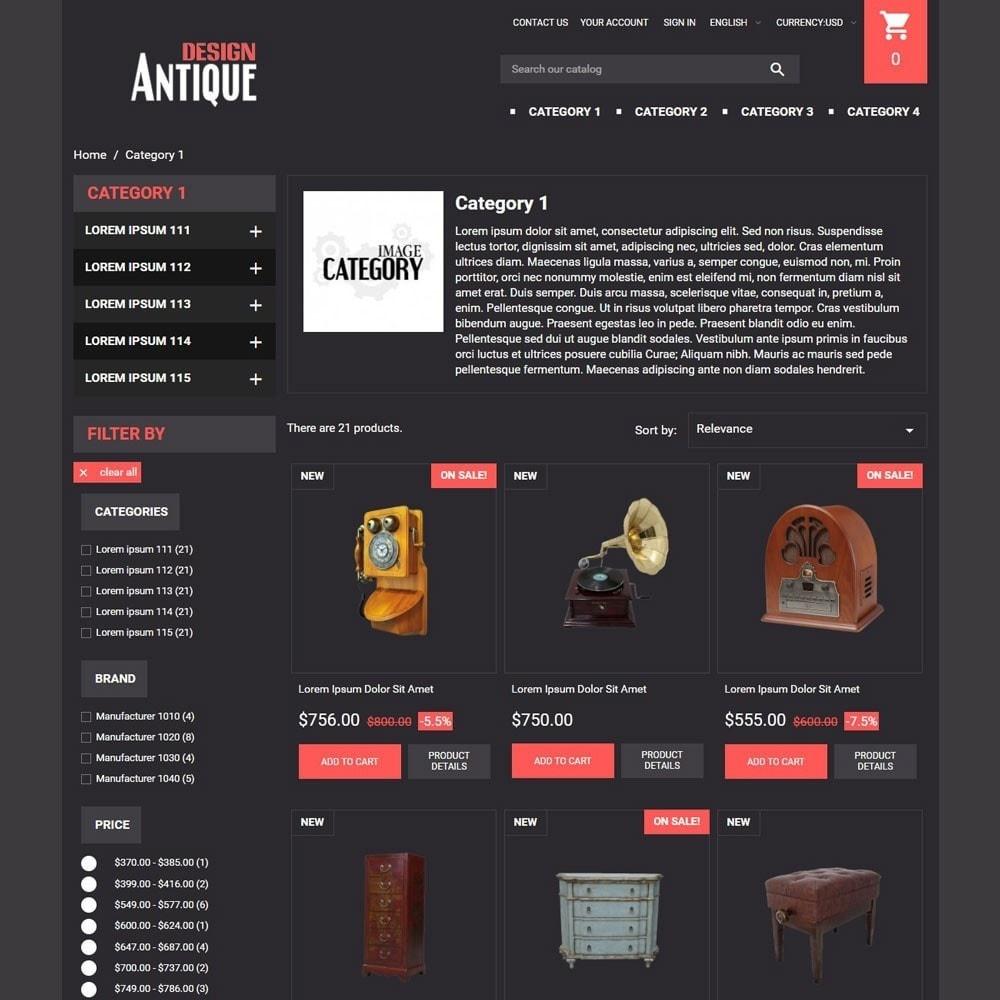theme - Arte & Cultura - AntiqueDesign - 3