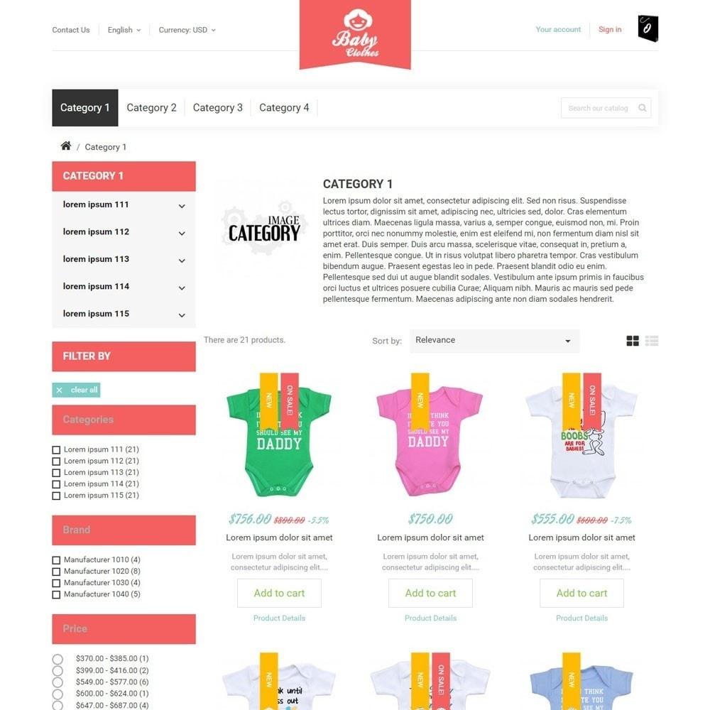 theme - Zabawki & Artykuły dziecięce - BabyClothes - 3