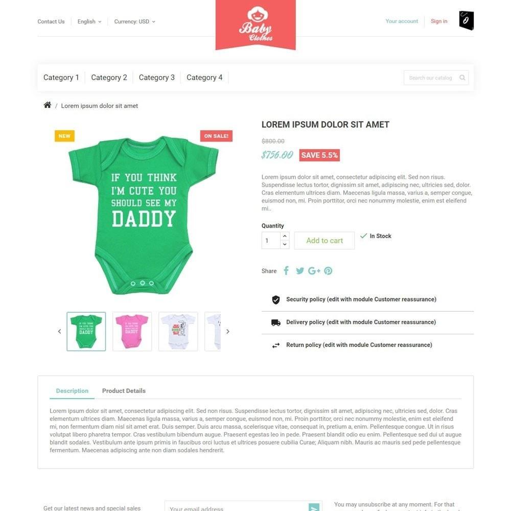 theme - Zabawki & Artykuły dziecięce - BabyClothes - 4