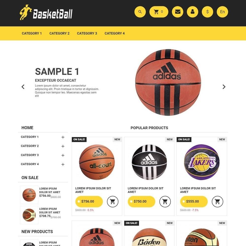 theme - Sport, Activiteiten & Reizen - BasketBall - 2