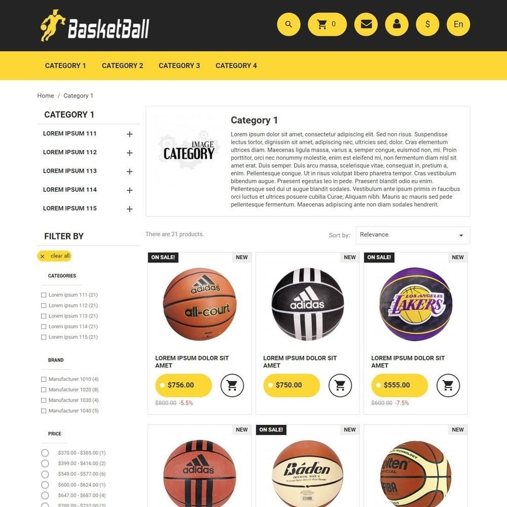 theme - Sport, Rozrywka & Podróże - BasketBall - 3
