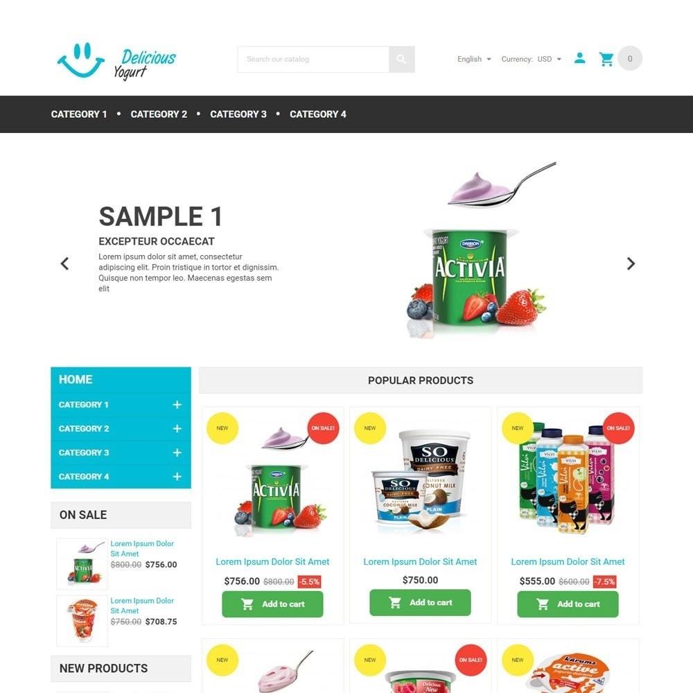 theme - Lebensmittel & Restaurants - DeliciousYogurt - 2