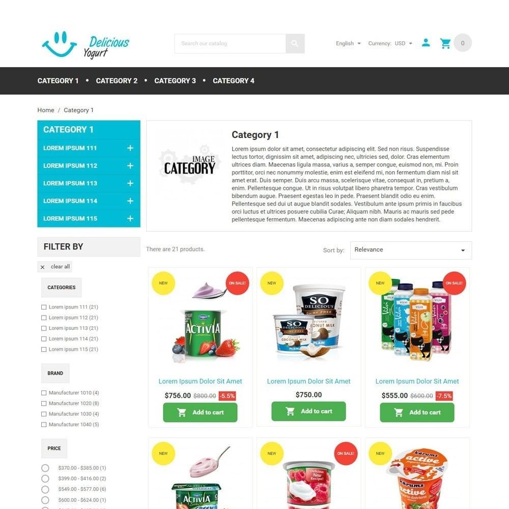 theme - Lebensmittel & Restaurants - DeliciousYogurt - 3