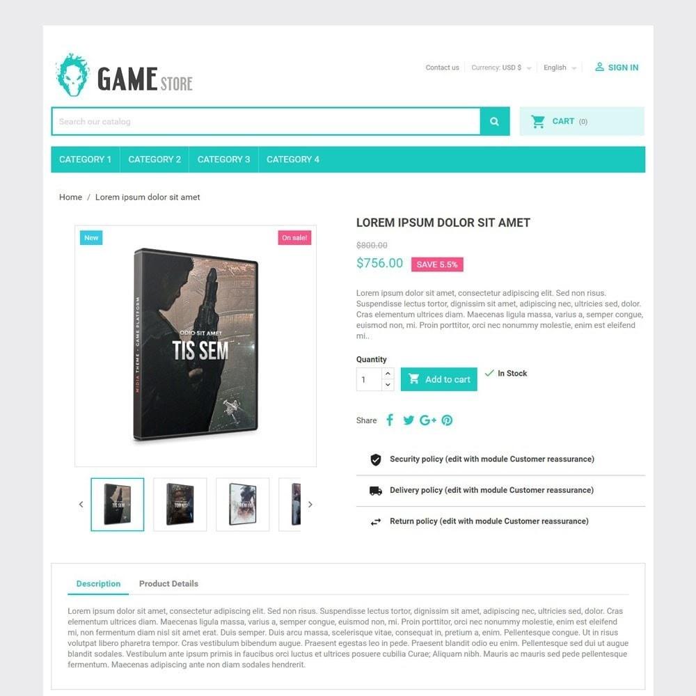 theme - Deportes, Actividades y Viajes - GameStore - 4