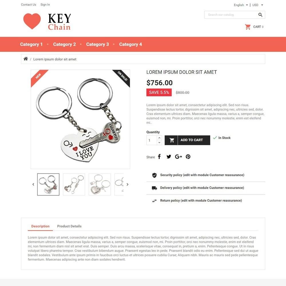 theme - Regali, Fiori & Feste - KeyChain - 4