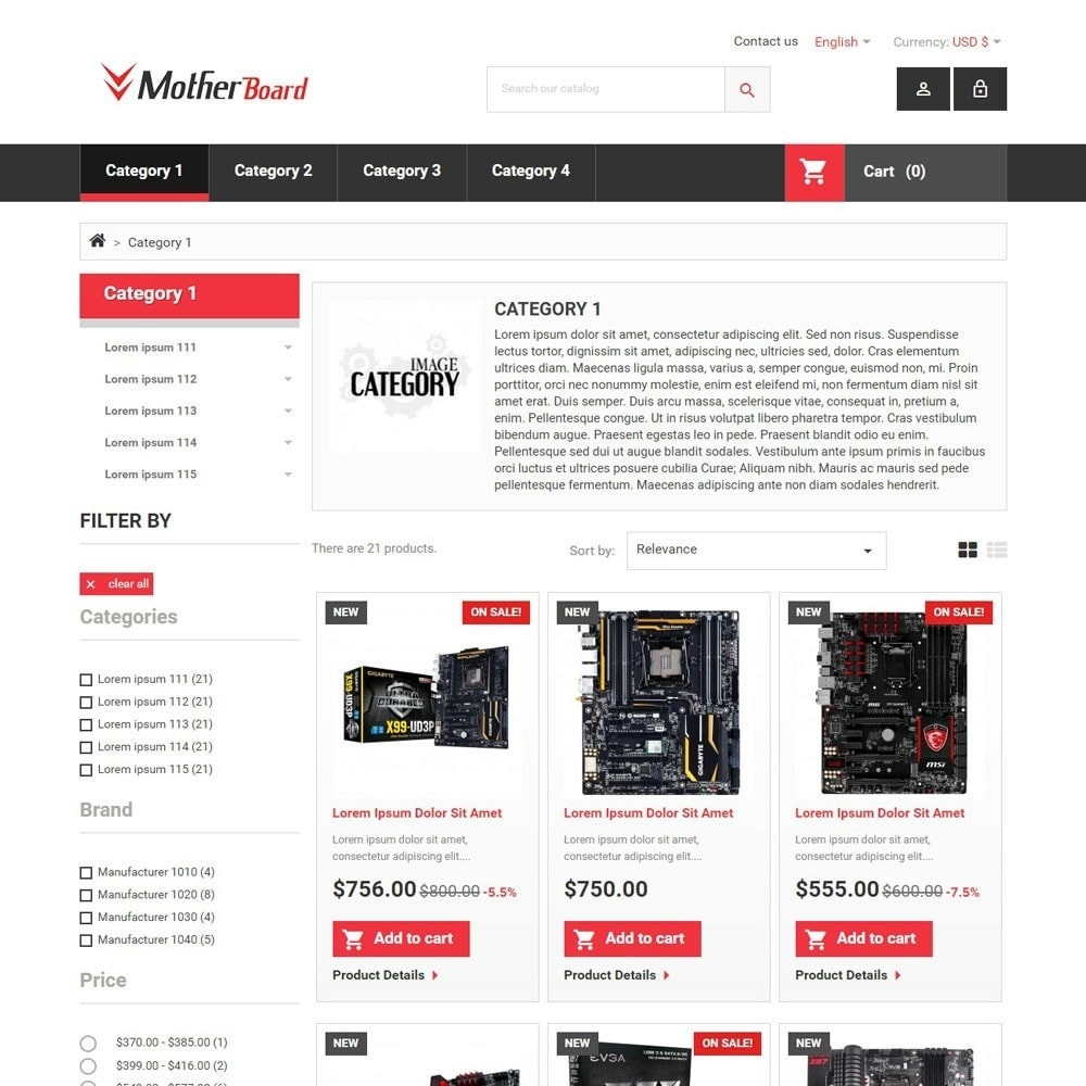 theme - Elettronica & High Tech - MotherBoard - 3