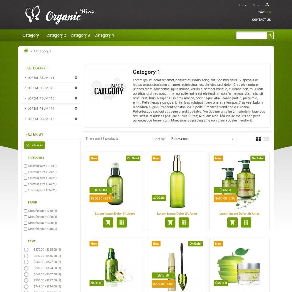 theme - Salud y Belleza - OrganicWear - 3
