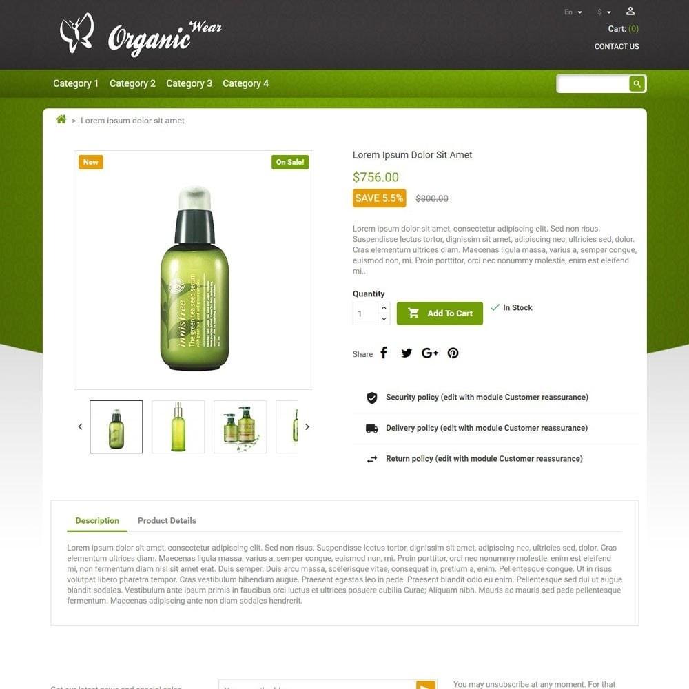 theme - Gezondheid & Schoonheid - OrganicWear - 4
