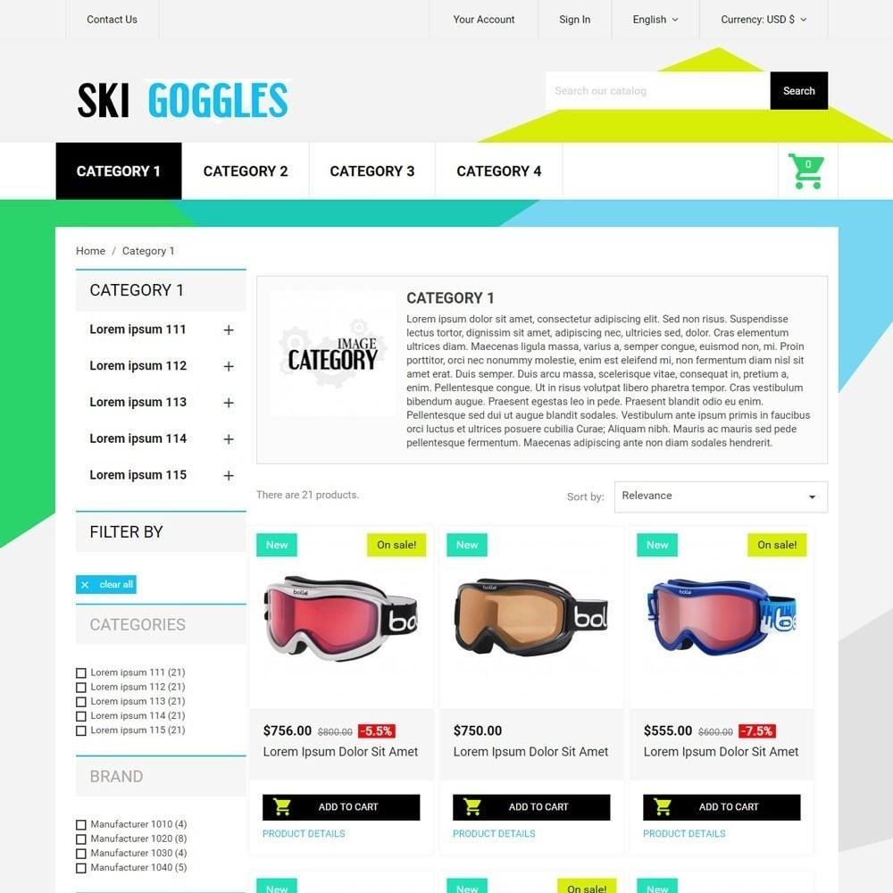 theme - Desporto, Actividades & Viagens - SkiGoggles - 3