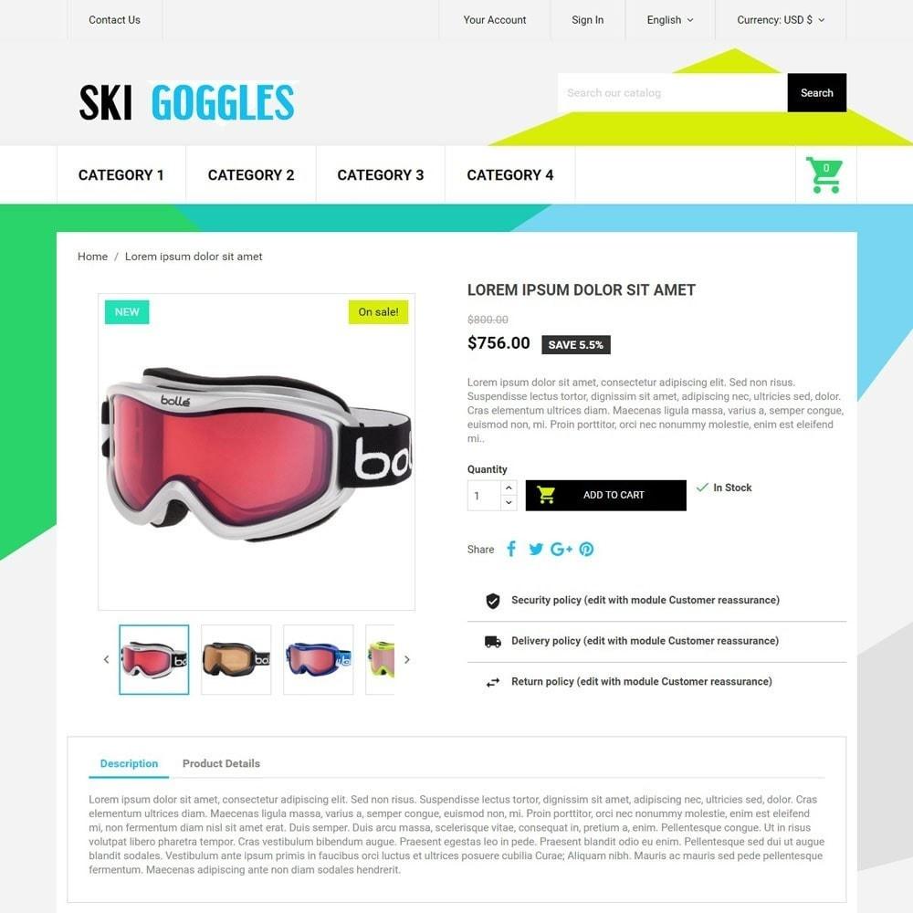theme - Desporto, Actividades & Viagens - SkiGoggles - 4