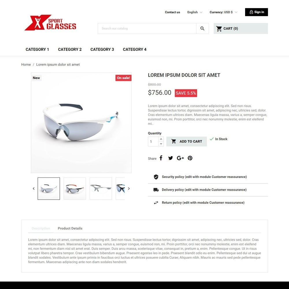 theme - Sport, Loisirs & Voyage - SportGlasses - 4