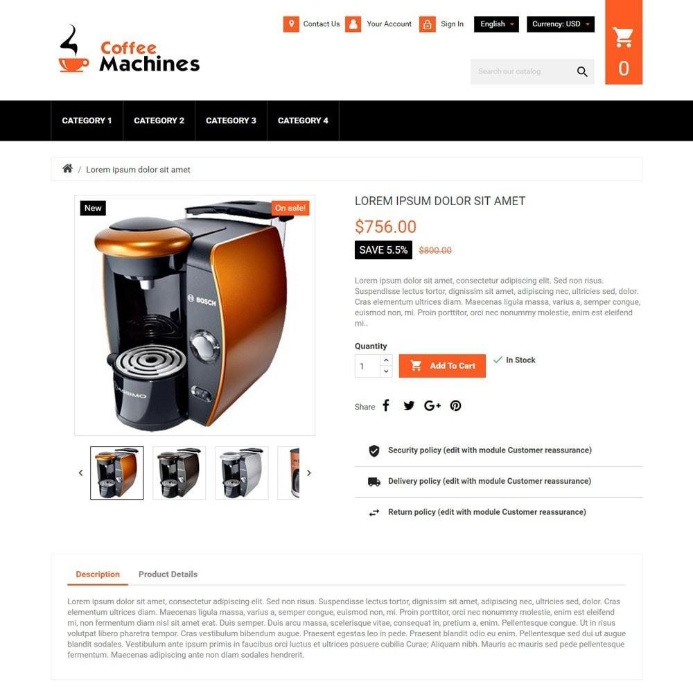 theme - Napoje & Wyroby tytoniowe - CoffeeMachines - 1