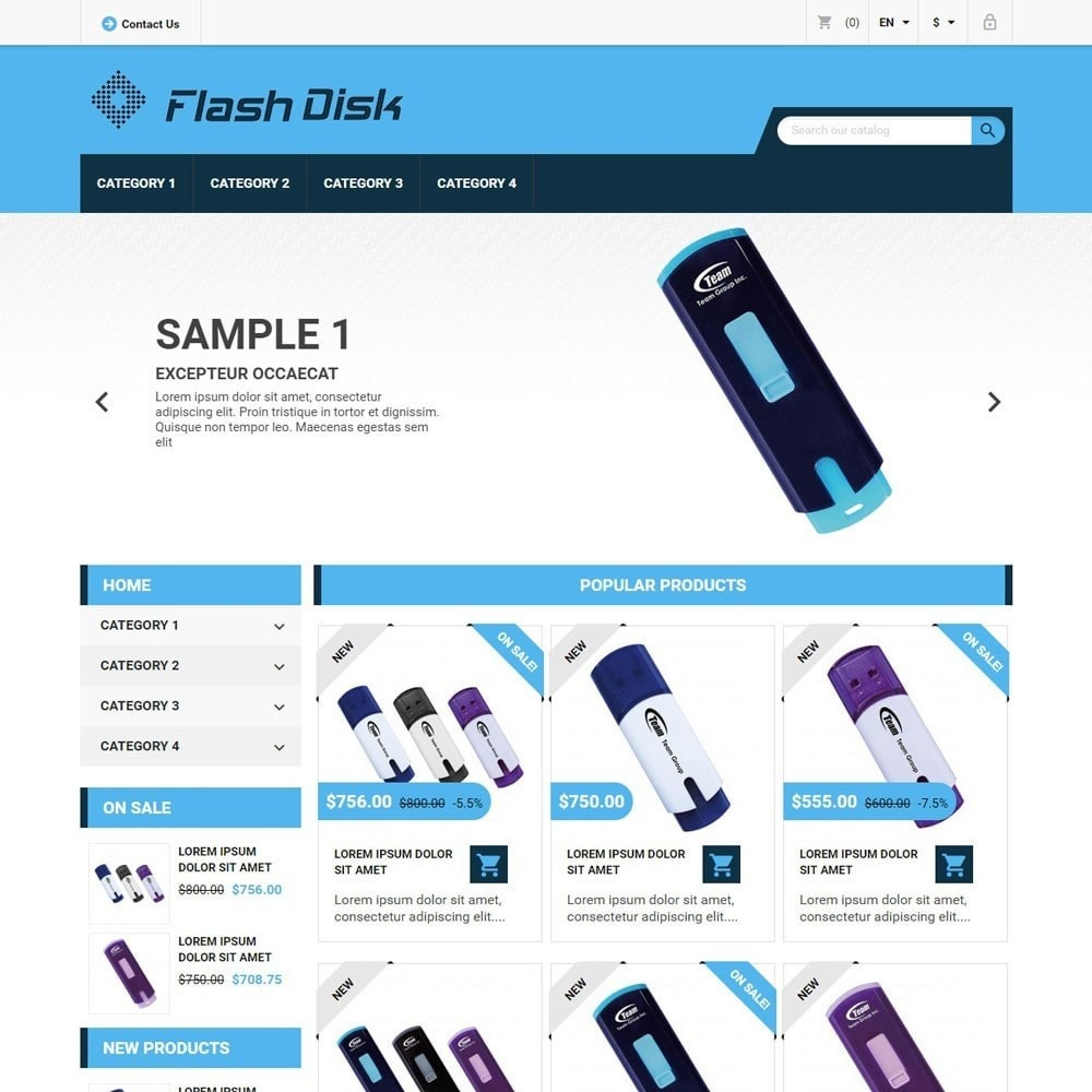 theme - Electronique & High Tech - FlashDisk - 1