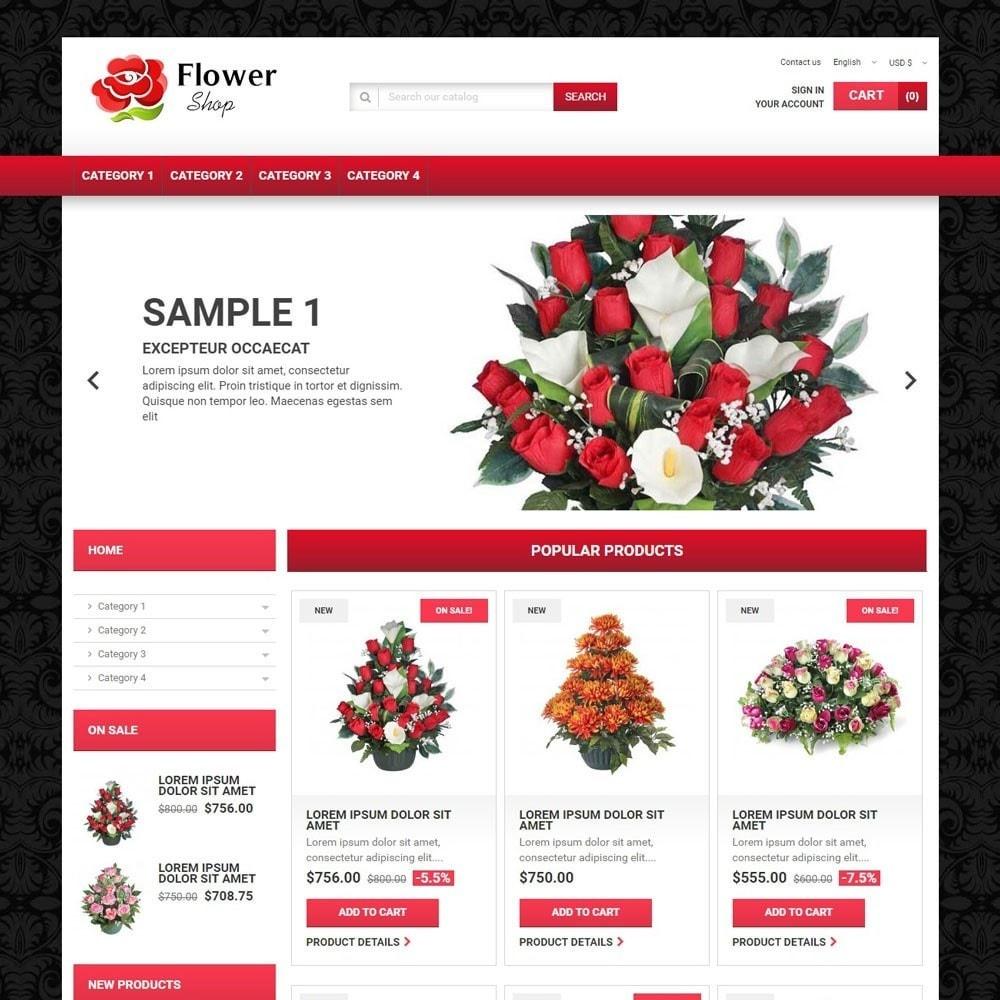 theme - Presentes, Flores & Comemorações - FlowerShop - 1