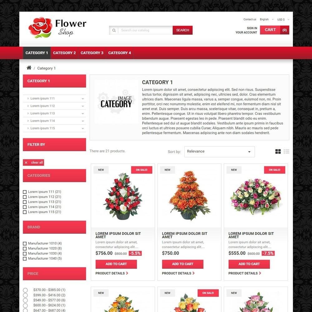 theme - Presentes, Flores & Comemorações - FlowerShop - 2
